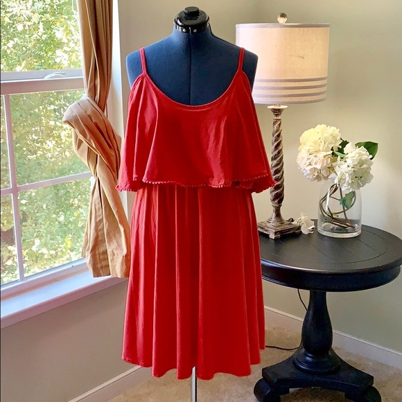 torrid Dresses & Skirts - Torrid Cold Shoulder Fit and Flare NWT Size 1X